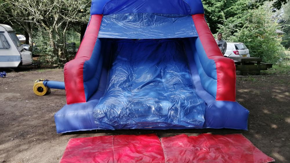 Front Slide View of the Party Fun Obstacle Course