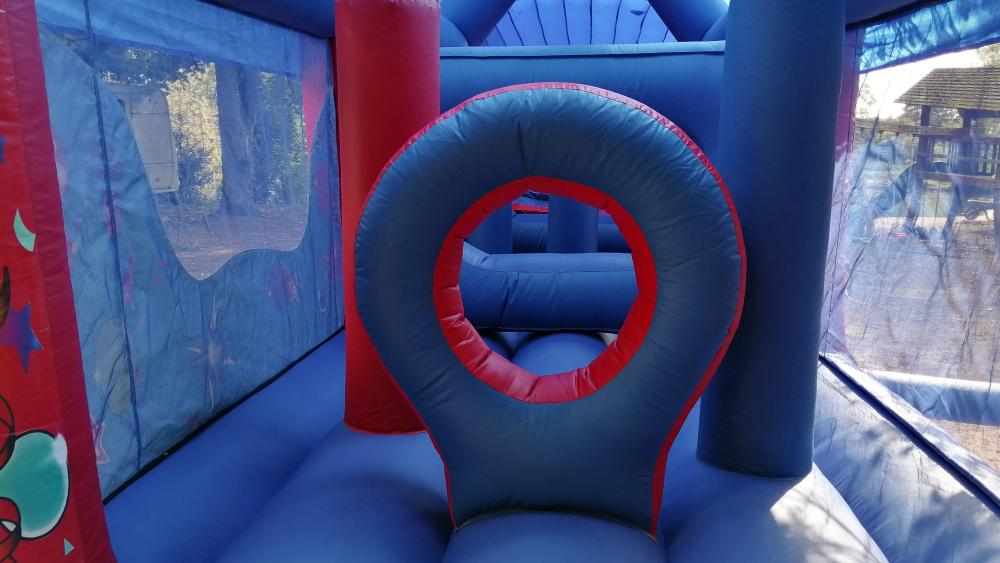 Inside1 View of the Party Fun Obstacle Course
