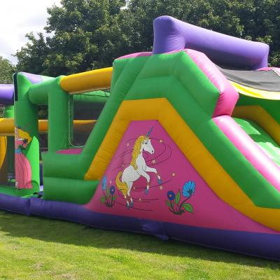 Fantasia Obstacle Course. 44ft x 12ft