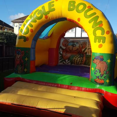 Jungle Bounce Castle