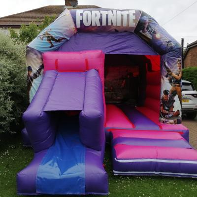 Fortnite Combi Castle and slide